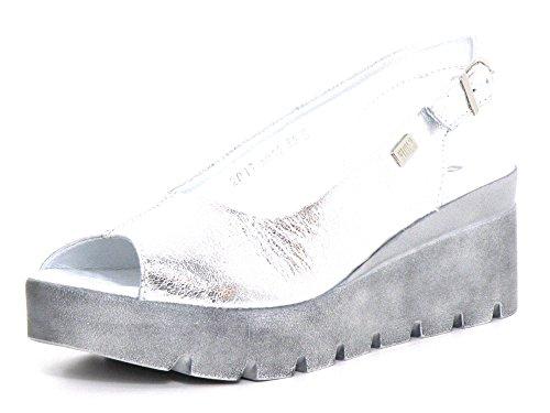 Simen Women's Fashion Sandals Silver Silver schwarz-kombi wQU7D3ghGY