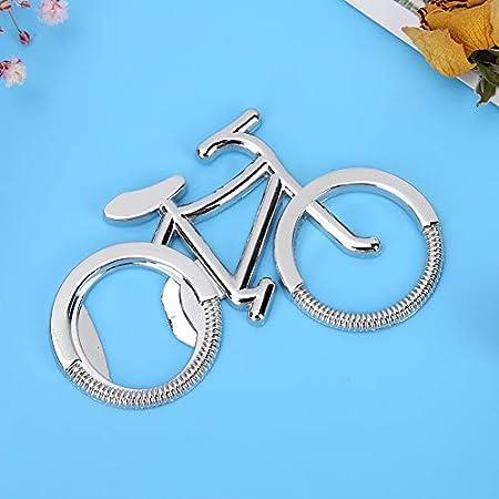 Abrebotellas con forma de bicicleta, sacacorchos de cerveza de metal para fiestas en casa y cenas salvajes, bodas y banquetes, colección para entusiastas de las bicicletas