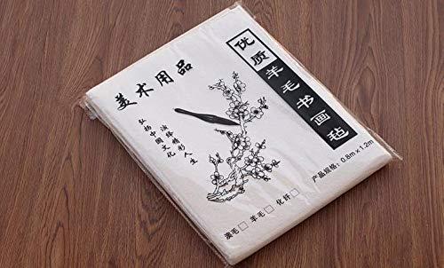 FJ118 Hmayart White Felt Mat for Sumi-e Painting /& Ink Calligraphy 120 x 80 cm 47 x 31.5 inch