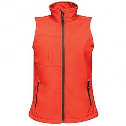 Regatta TRA849 80808L Professional Women's Octagon II 3 Layer Waterproof Softshell Body warmer, Black(Black), 8 3