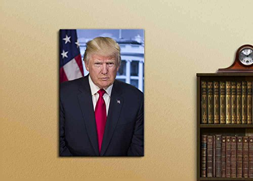 Portrait of Donald Trump (45th President of The United States) American Presidents Series
