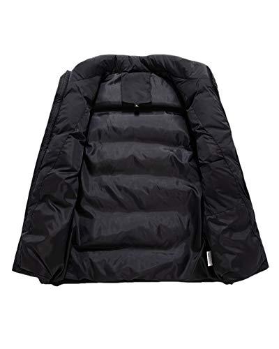 Epais Homme Padded Sans Gilet Casual Doudoune Veste Noir Chaud Manche Bodywarmer Hiver pxgr0Ywgq