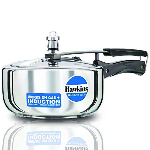 Hawkins-B60-Pressure-Cooker-3-L-Silver