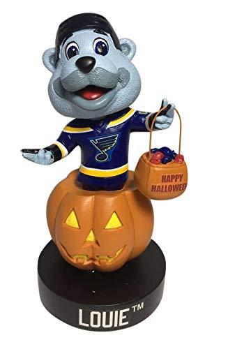 Kollectico Louie St. Louis Blues Holiday - Halloween Bobblehead NHL