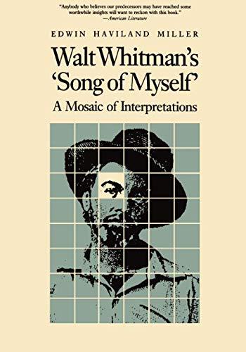- Walt Whitman's