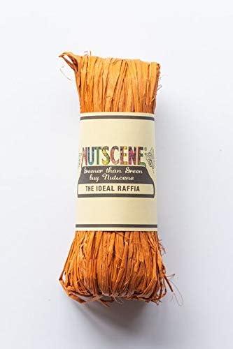 50 g Tiras de rafia natural Nutscene