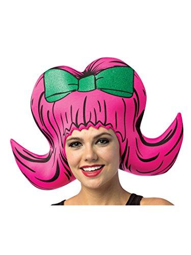 Rasta Imposta Pink Bouffant Cartoon Wig]()