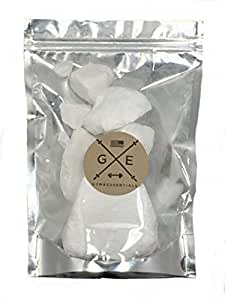 Gym essentials 2oz Block Chalk With Resealable bag for weightlifting, crossfit and rock climbing