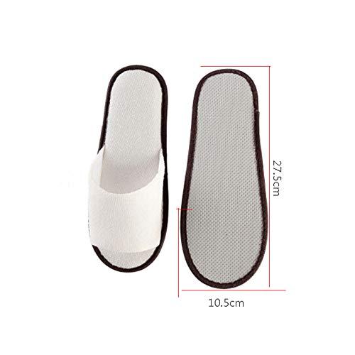 Travel Codice Lyx E 100 Beauty White100double2 Getta Usa Pantofole Casalinghi Unisex Articoli Sauna Pediluvio Hotel Salon Sono Paia Di qvrPwqS