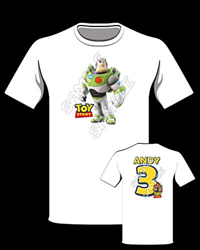 Toy Story 4 shirt, Toy Story Buzz Lightyear personalized shirt, Toy Story birthday Shirt #2