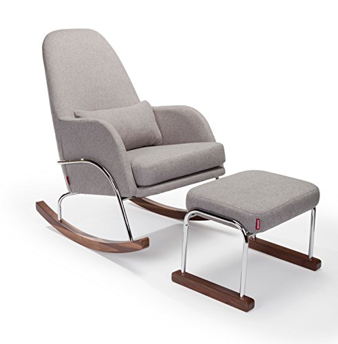 Monte Design, Jackson Rocker & Ottaman, Heather Grey by Monte