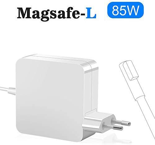 Rocketek MacBook Pro Charger 85W, Compatible con 85W Magsafe L-Tip ...