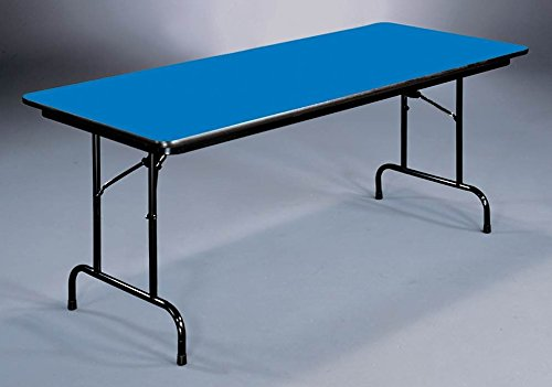 UPC 020976187376, High Pressure Folding Table (18 in. x 72 in./Blue)