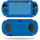 MightySkins Protective Vinyl Skin Decal for Sony PS Vita (Wi-Fi 2nd Gen) wrap cover sticker skins Solid Blue