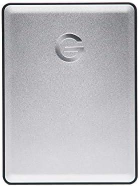 G-Technology 1TB G-DRIVE Mobile USB 3.0 Portable External Hard Drive, Silver – 0G06071