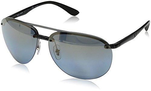 Ray-Ban Mens 0rb4293ch876/j064plastic Man Polarized Iridium Aviator Sunglasses, Grey, 65 mm
