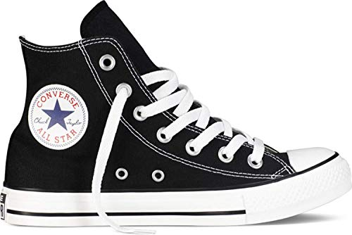 Converse Unisex Chuck Taylor All Star High Top Oxfords Black/White 6 D(M) US (Chuck Converse Taylor Top High)