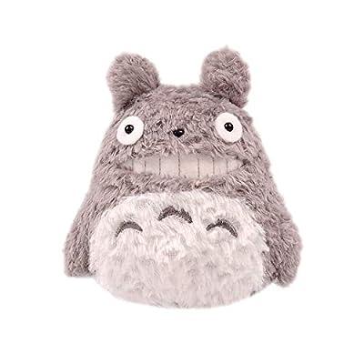 Totoro My Neighbor Hayao Miyazaki Studio Ghibli Plush Stuffed Toy Grey: Toys & Games