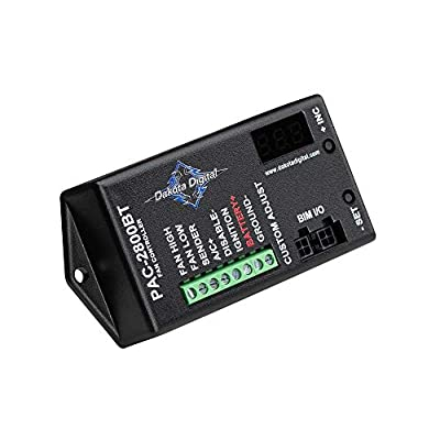 Dakota Digital PAC-2800BT Electronic Fan Controller 70 Amp with Bluetooth Control: Automotive