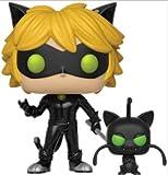 Cat Noir With Plagg Miraculous Funko Pop