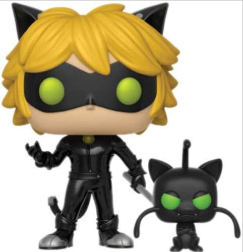 Yellow Ladybug Ring - Cat Noir With Plagg Miraculous Funko Pop