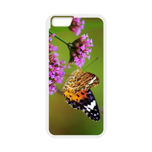 "SYYCH Phone case Of Butterfly Flowers 2 Cover Case For iPhone 6 (4.7"")"
