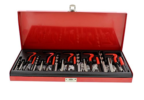 ABN 131-Piece Metric Thread Repair Set – Damaged Helicoil-Type Thread Master Repair Kit for Automotive Repairs by ABN (Image #3)