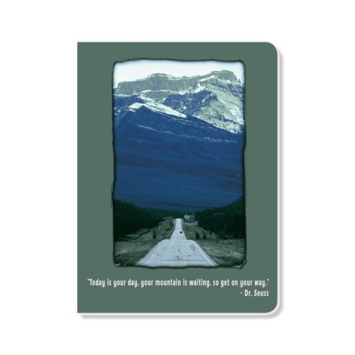 ECOeverywhere Your Mountain Sketchbook, 160 Pages, 5.625 x 7.625 Inches (sk14189) by ECOeverywhere