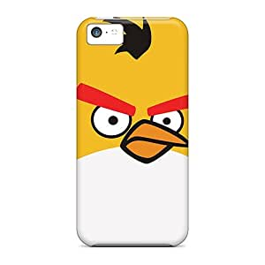 Case Cover Angry Birds Yellow Bird/ Fashionable Case For Iphone 5c