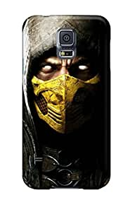 Protective Tpu Case With Fashion Design For Galaxy S5 (scorpio In Mortal Kombat X)