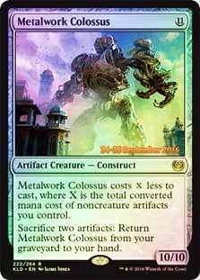 Magic: the Gathering - Metalwork Colossus (222/264) - Prerelease & Release Promos - Foil