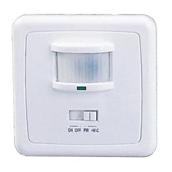 Detector de movimiento con sonido función 140ø para bajo: Amazon ...