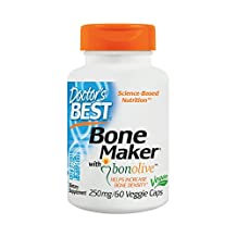 Doctor's Best - Bone Maker with Bonolive 250 mg. - 60 Vegetarian Capsules