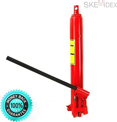 SKEMi-Jack Stands Walmart Jack Stands Harbor Freight Jack Stands Home Depot Jack Stands 3 ton Jack Stands 6 ton and 8 ton Long Manual Hydraulic Ram Jack Double Pump Engine Lift Cherry Picker