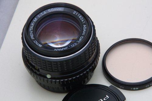 - SMC Pentax-M 1:1.4 50mm