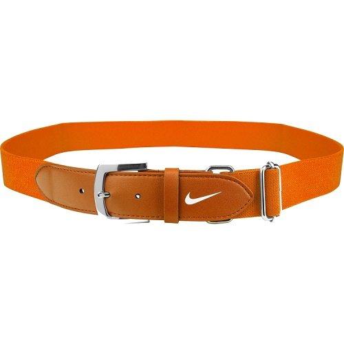 Nike Adult Baseball Belt,OSFM(Team Orange/White)