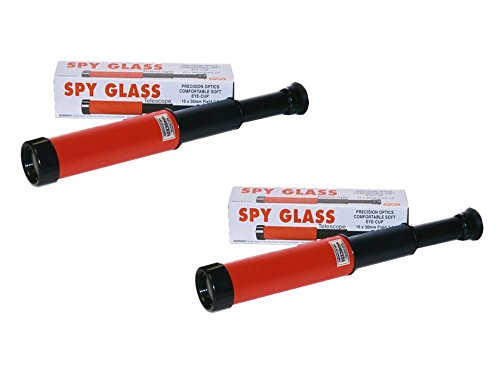 Schylling, Set of 2 Spy Glass Classic Children's Telescope Toy Bundled by Maven Gifts from Schylling,
