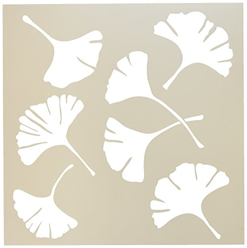 "Crafter's Workshop Templates 12""X12""-Ginko Leaves"