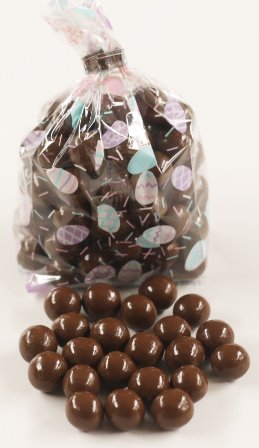 Scott's Cakes Chocolate Malt Balls in a 1 Pound Easter Eggs Bag (Balls Gourmet Milk Malted)