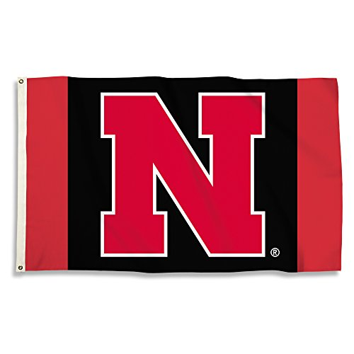 BSI NCAA Nebraska Cornhuskers Unisex 3x5' Flag with Grommets3x5 Foot Flag with Grommets, Red, One Size (Banner Bsi Products Ncaa)