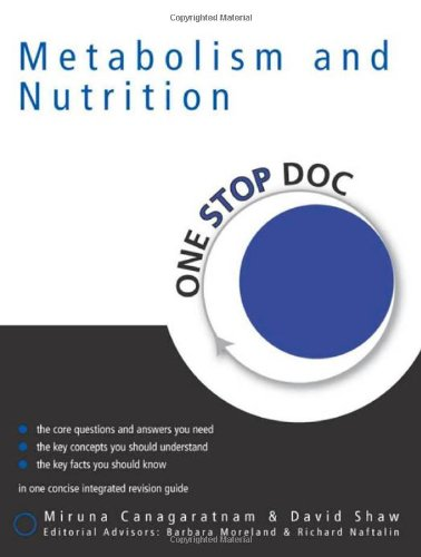 Metabolism & Nutrition (One Stop Doc)