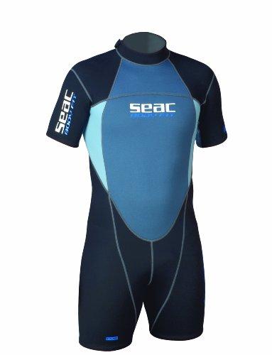 Amazon.com: Seac de los hombres BODY-FIT SHORTY Wetsuit ...
