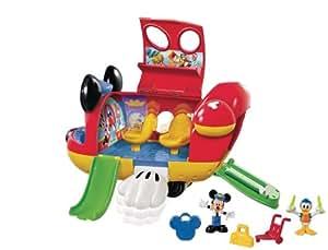 Mattel Disney Mickey Mouse Club House - Avión de Mickey Mouse
