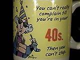 Hallmark Maxine 40th Birthday Mug !