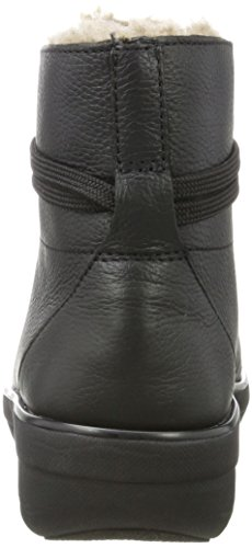 On Shear Black Boot Slip Fitflop para Negro Botines Loaff Ankle Mujer AxEq7