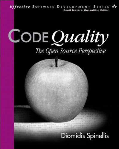 Download Code Quality: The Open Source Perspective (Effective Software Development Series) Pdf