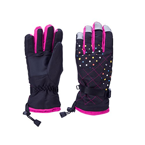 Womens Winter Snow, Ski, Snowboard, Cold Weather Gloves with Thinsulate