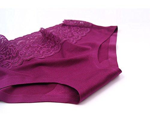 Sisann - Culottes - para mujer Grau+Blau+Rotwein