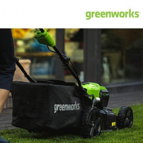 Greenworks 2506807 Cortacésped de 46 cm Brushless con ...