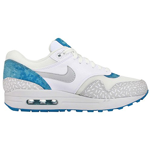 Nike Air Max Print 1, color turquesa y blanco